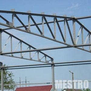 Изготовление металлических ферм - mestro