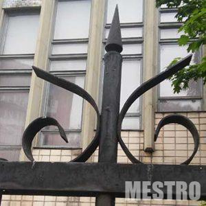 Цена металлический забор от компании  mestro