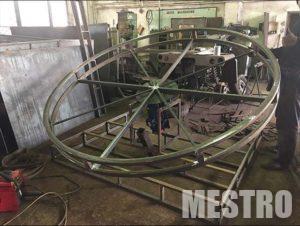 Металлический каркас для аттракциона_mestro.com.ua