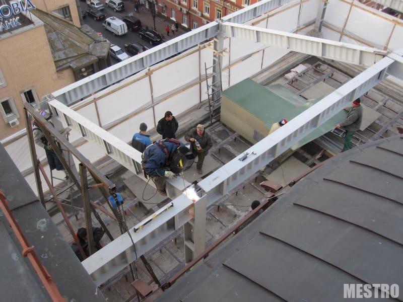 Монтаж металоконструкцій в Києві та Україні