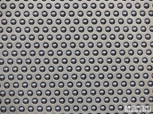 Перфорированные панели из металла